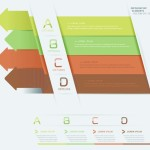Creative Vector Origami Option Label For Infographic 01