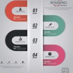 Creative Vector Origami Option Label For Infographic 04