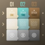 Vector Infographic Number Option Labels 01