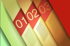 Vector Infographic Number Option Labels 03