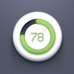 Circular Progress Bar UI PSD