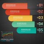 Colorful Paper Number Labels For Infographic Data 02