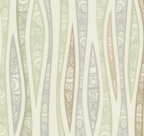Free Vintage Floral Pattern Vector Background 04 - TitanUI