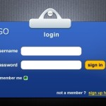 Corporate Identity-Like Login GUI PSD