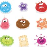 Lovely Cartoon Grimace Icons Vector 03
