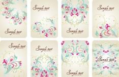 Elegant Colorful Floral Pattern Vector 02