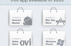 App Store Promotions PSD Graphics