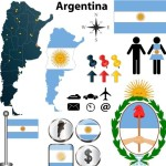 Vector Argentina Information Graphic Elements