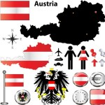 Vector Austria Information Graphic Elements