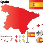 Vector Spain Information Graphic Elements