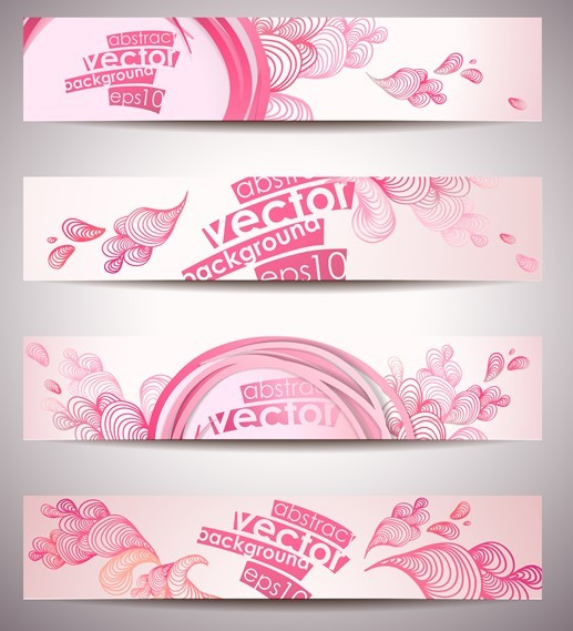 banner vector design free download