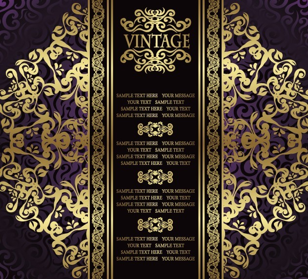 Gold Royal Elements Vector Gold Royal Elements Vector Pictures to pin ...