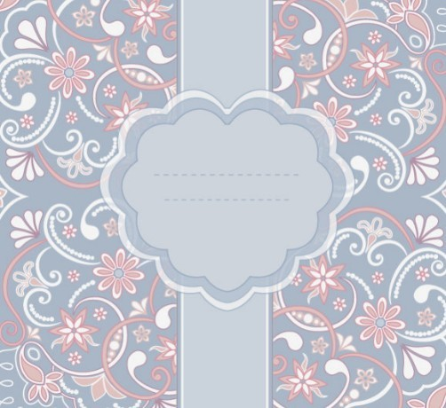Free Pink Vintage Floral Pattern Background 01 Titanui