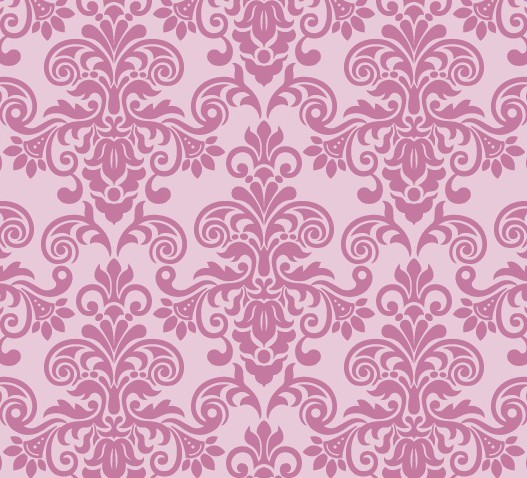 free pink vintage floral pattern background 05 titanui