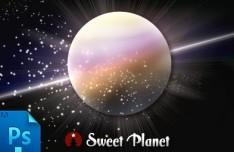 Sweet Planet PSD
