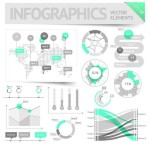 Clean Vector Infographic and Data Visualization Design Elements 02