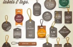 Set-Of-Vintage-Pricing-Labels-and-Tags-PSD-234x152 Old Letterhead Template Downloads on