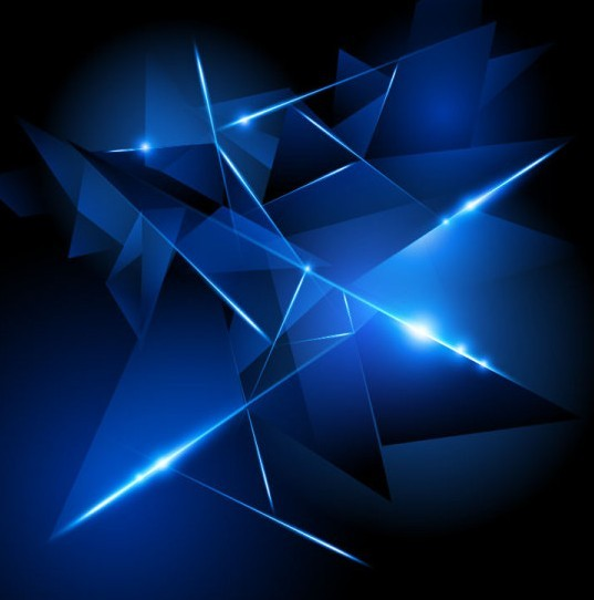 Free Dark Blue HI-TECH Abstract Background Vector 02