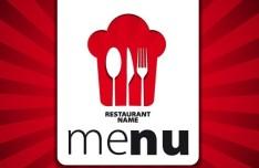Elegant Restaurant & Cafe Menu Cover Template Vector 01
