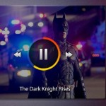 Mini Video Player PSD Widget