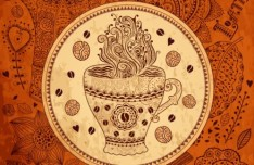 Vector Vintage Hand-Drawn Decorative Ornaments For Cafe & Restaurant 03
