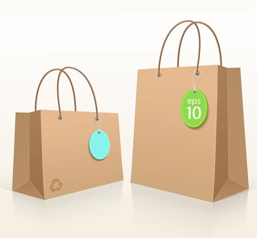 Shopping Bags Design Template Shopping Bag Template