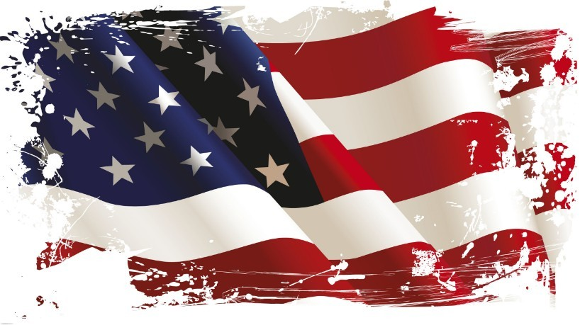 Free Vintage American Flag Design Vector 04 Titanui