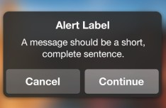Dark Alert Modal Box Interface PSD