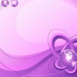 Vintage Floral Swirls Background Vector 04