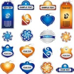 Set Of Vector Price Tags and Labels