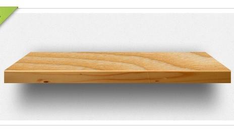 Free Wooden Book Shelf PSD - TitanUI