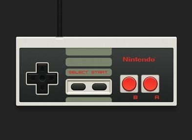 Free Nintendo Nes Controller Psd Titanui