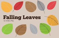 Falling Leaves Clip Art