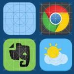 iOS 7 Icon Guide PSD