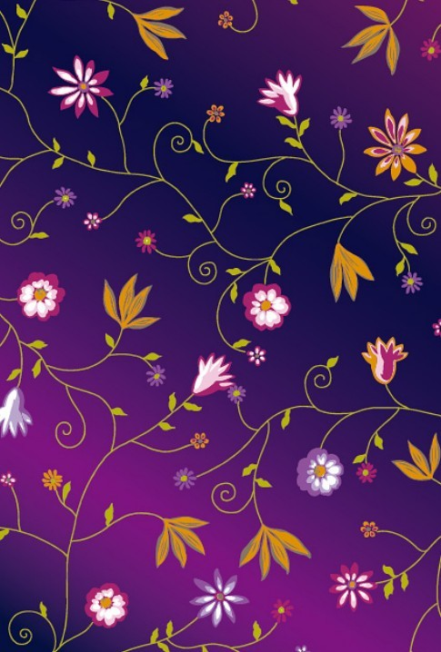 colorful floral background patterns - photo #7