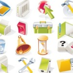 Daily Necessities Icons Vector