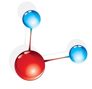 Free Vector Molecular Compound 03 - TitanUI