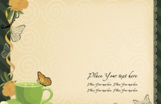 Vintage Note Paper Template Vector 05