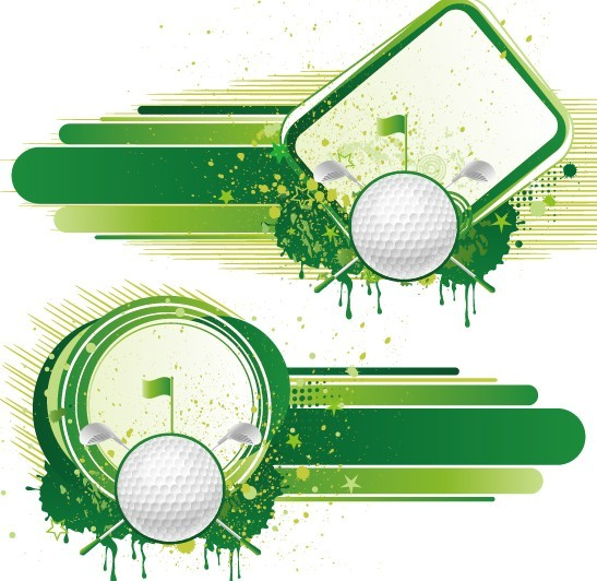 Vintage golf vector free vector download 6045 Free