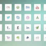 32+ Social Media Icons With White Backgrounds
