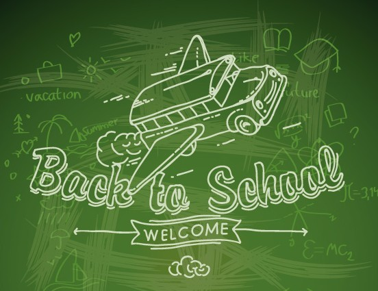 back to school background - photo #14