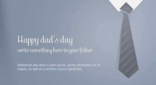 Fathers Day Greeting Card Template Psd Titanui