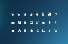 Mini Glyphs Icons Collection #3