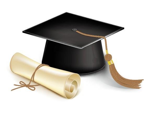 Diploma, Graduation Cap, degree cap, Academic cap