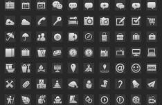170+ Minimal Glyph Icon Set PSD