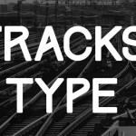 Free Font: Track type