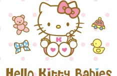 Vector Hello Kitty Babies Design