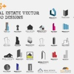 Set Of Vector Real Estate Logos