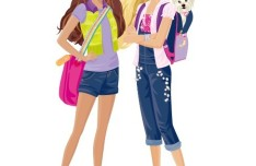 Vector Fashion City Girls Illustration 06