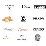 Collection Of Vector International Fashion Brands Logos
